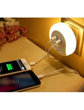 LED double charger lamp