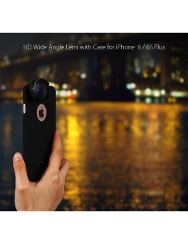 Lente Aukey para móvil + clip + carcasa