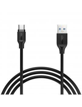 Cable Aukey USB-C carga rápida