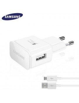 Cargador Samsung USB + Cable (carga rápida)