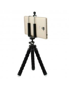 Octopus flexible tripod Black