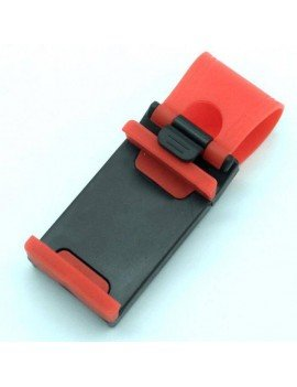 Mobile steering wheel car mount Red