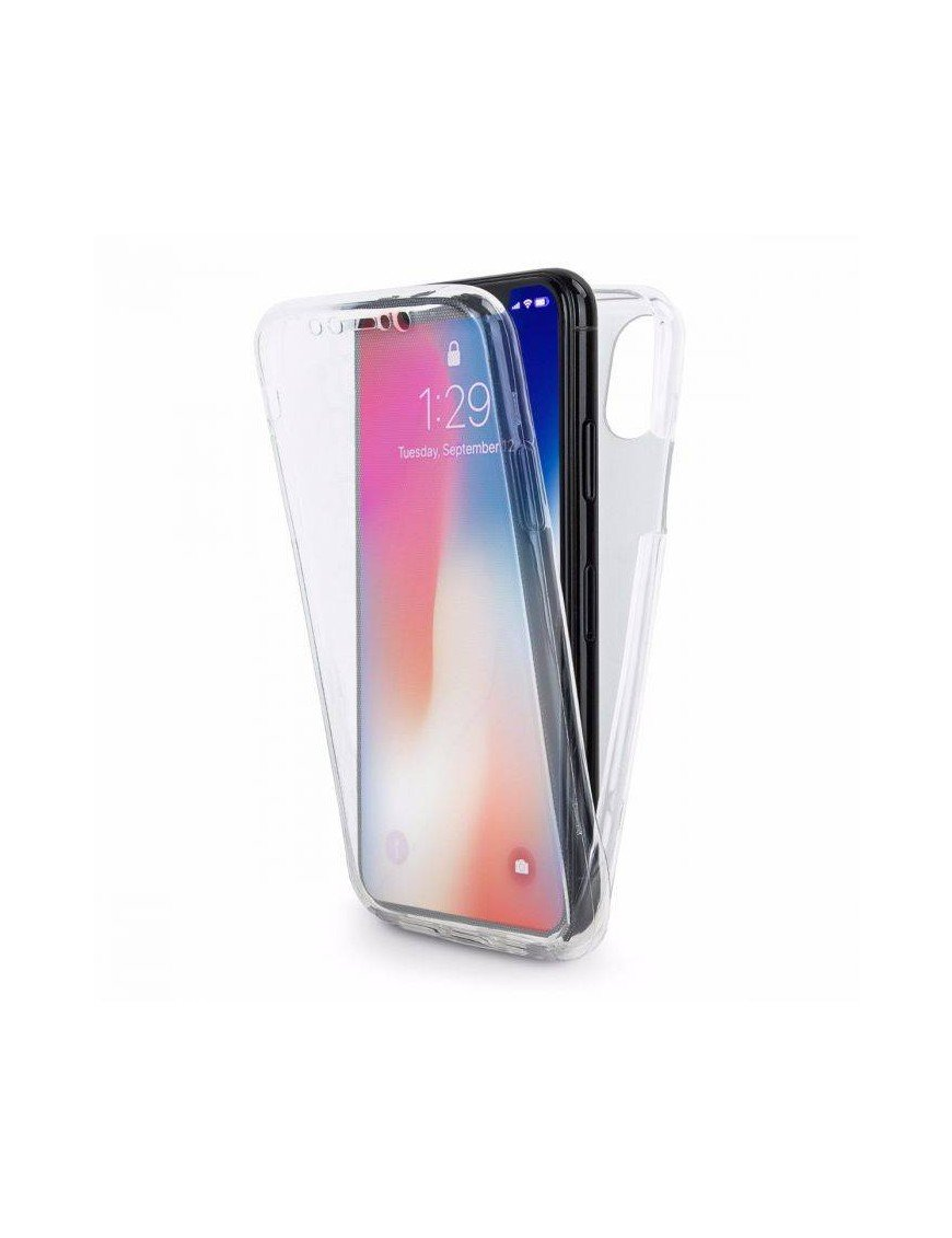 Carcasa 360º gel iPhone X
