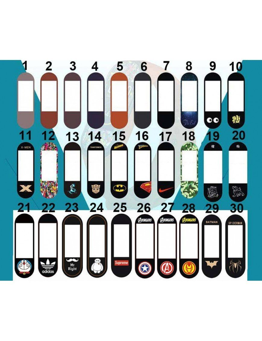 Protector 30 diseños Mi Band 4