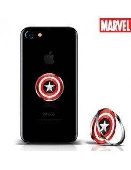 Soporte anillo SpinGrips Marvel Capitan America
