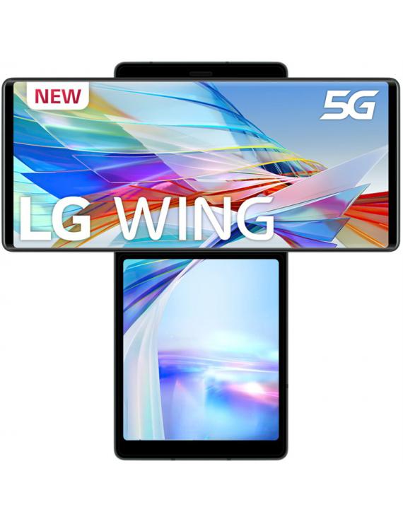 LG Wing 5G 128GB Aurora Gray