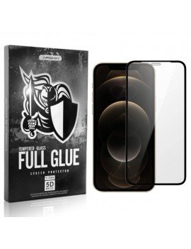 Cristal templado Full Glue 5D Apple iPhone 12/Pro/Max (completo)