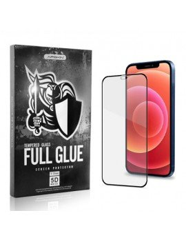 Cristal templado Full Glue 5D Apple iPhone 12/Pro/Max (completo)