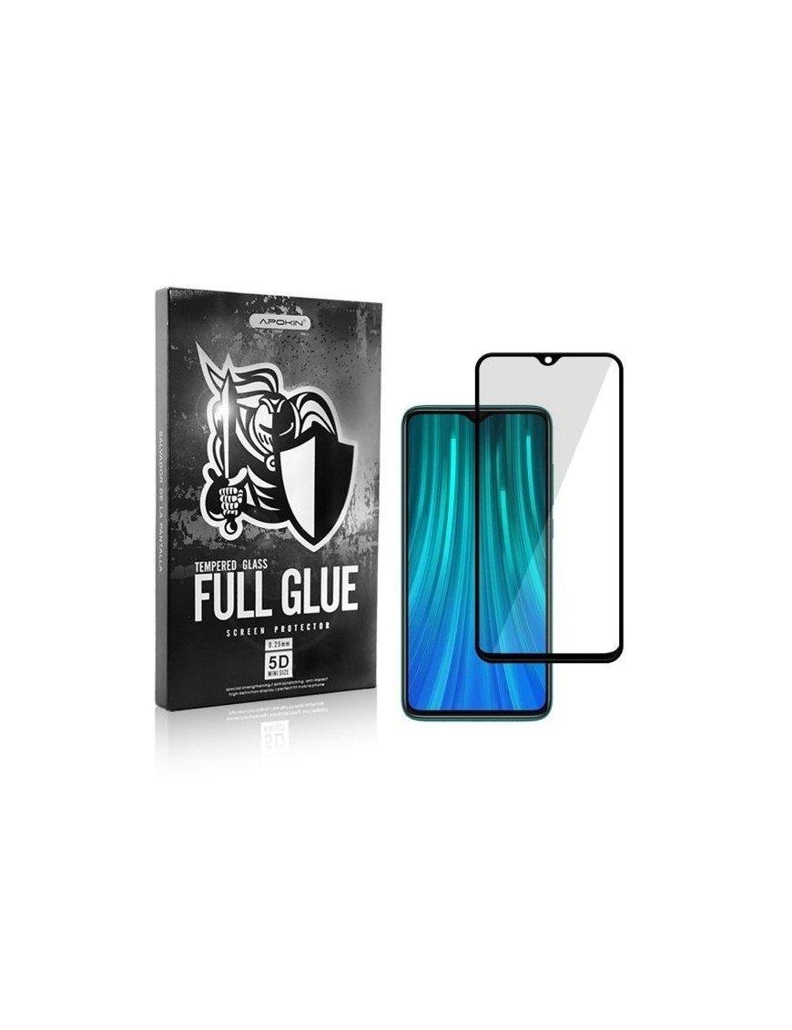 Xiaomi Redmi Note 8 Pro 5D tempered glass (full glue)