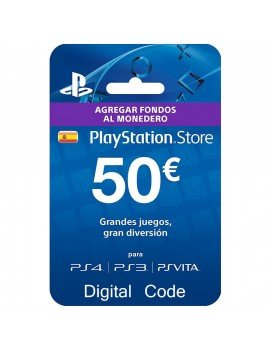 € 50 PSN card (Spain)