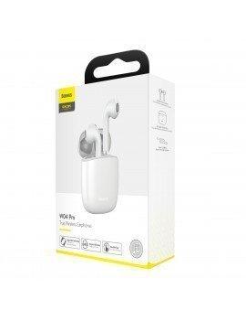 Baseus Encok TWS Auriculares W04 Pro Blanco