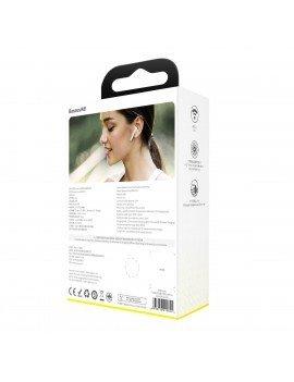 Baseus Encok TWS Earphones W04 Pro White