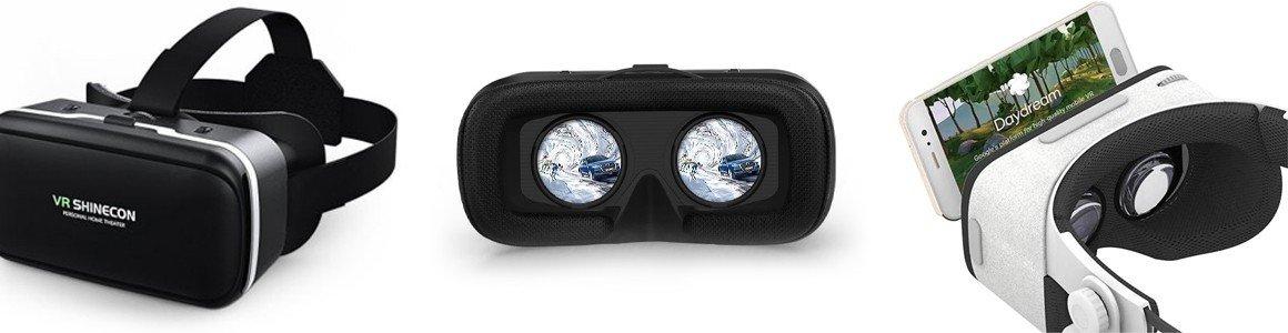 Gafas de Realidad Virtual y controladores