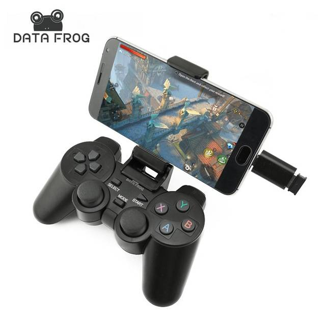 2.4G gamepad + support + OTG