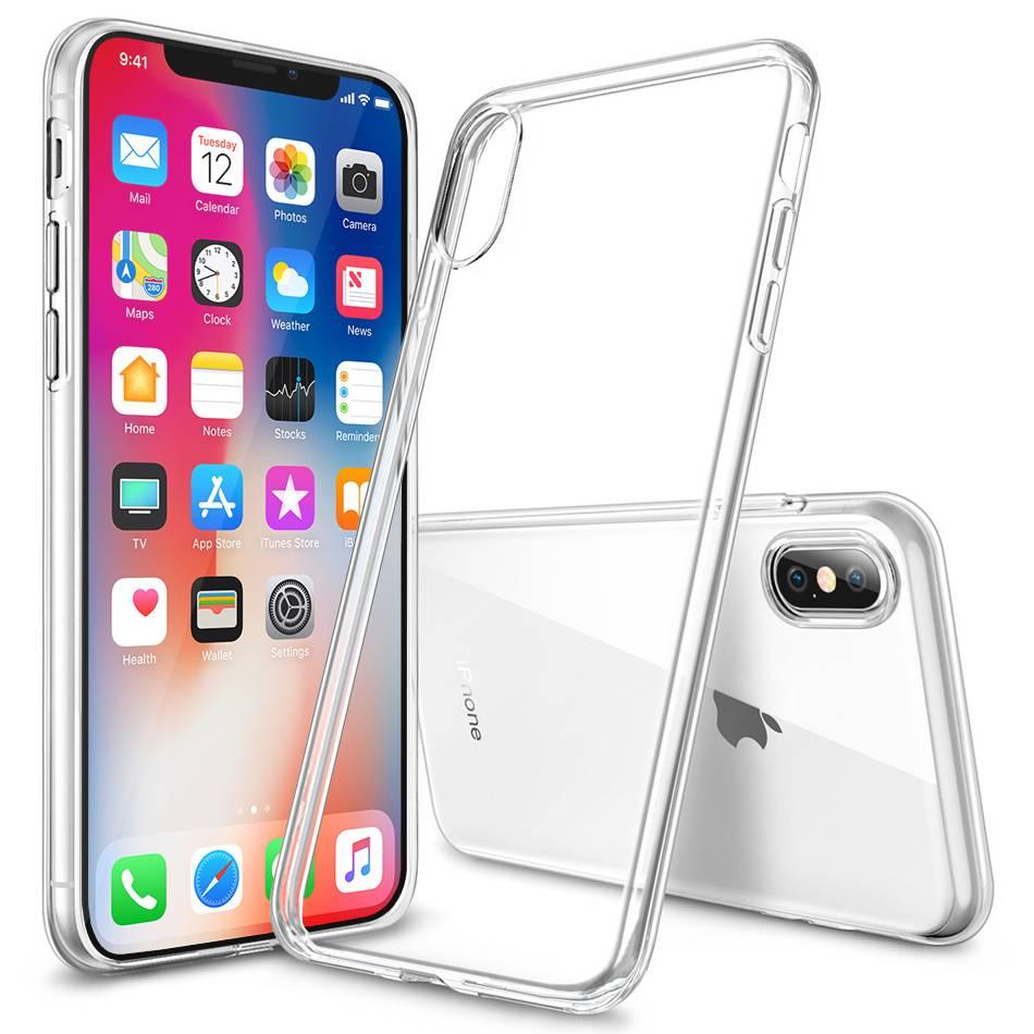 Carcasa TPU gel iPhone X/XS