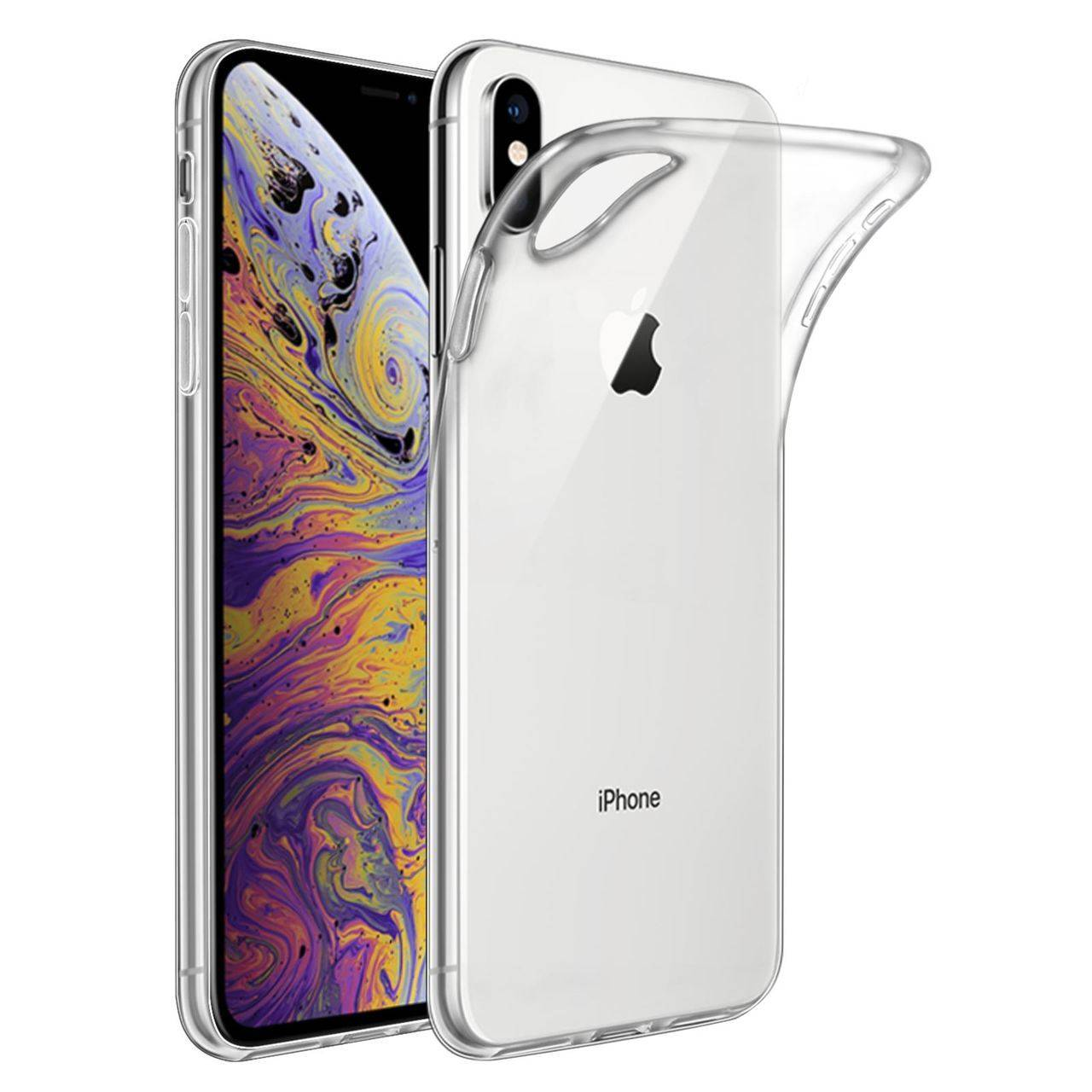 Carcasa TPU gel iPhone XS Max