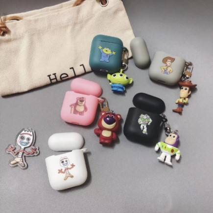Funda + llavero Toy Story para AirPods