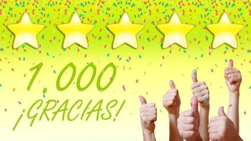 1.000 ¡Gracias! width=